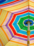 Umbrella Detail, Seattle Public Market, Washington, USA Photographic Print