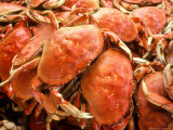 Fresh Crab in Pike Street Market, Seattle, Washington, USA Photographic Print by Janis Miglavs