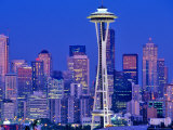 Seattle, Washington, USA Photographic Print by Chuck Haney