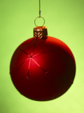 Close-up of Beautiful Christmas Ornament Photographic Print