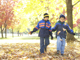 Little Boys in the Park Photographic Print