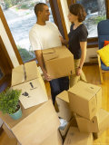 Couple on Moving Day Photographie