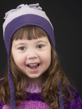 Little Girl in Toque Photographic Print