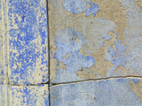 Close-up of Worn Stone Wall Reproduction photographique