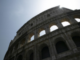 Sun Shining Through Ruins of the Coliseum Photographic Print