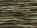 Close-up of Dark Paintbrush Bristles Photographic Print