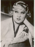 Mae West American Film Actress and Sex Symbol Photographic Print