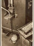 Close-Up View of a Coining Press Photographic Print