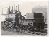 "Hedley's Improved Wylam Engine Known as ""Puffing Billy"" Taken to Museum Newcastle on Tyne Photographic Print"