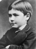 Rudyard Kipling English Writer as a Boy Photographic Print
