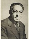 Isidor Isaac Rabi, American Physicist Born in Austria, Giclee Print