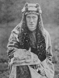 T E Lawrence (Lawrence of Arabia) in Arab Dress Photographic Print