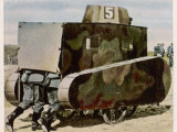 Sham German Tanks Photographic Print