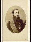 Vittorio Emanuele II King of Italy Circa 1865 Photographic Print