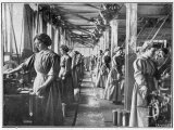 Women Working in an English Munitions Factory Photographic Print