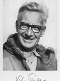 Nikolaas Tinbergen, British Zoologist Born in the Netherlands, Photographic Print