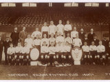 Postcard of Fulham Football Club's Team for the 1906-7 Season Photographic Print