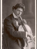Boris Hambourg Russian-Born Cellist Photographic Print