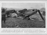 L77 Zeppelin Destroyed Photographic Print