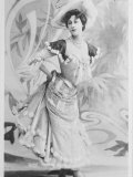Liane de Pougy French Actress Photographic Print
