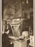 Ingots of Silver are Weighed in the Pyx Office Checking That They are the Correct Weight Photographic Print