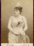 Theresa Popular French Actress and Singer Photographic Print