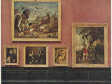 Louvre Paintings 1929 Photographic Print