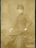 Connie Gilchrist English Actress in Her Riding Clothes Photographic Print