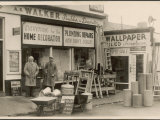 The Exterior of the Shop of A.S. Walker Builder and Decorator Lond Photographic Print