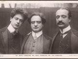 Boris Mark and Jan Hambourg Russian-Born Musicians Photographic Print
