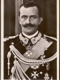 Vittorio Emanuele III King of Italy and Albania Photographic Print