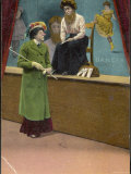 Suffragette to the Bearded Lady in a Fairground: How Did You Manage It Photographic Print