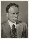 Mikhail Aleksandrovich Sholokhov Russian Writer Noted for and Quiet Flows the Don Photographic Print
