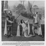 Il Trovatore, Act I Scene III: Leonora Caught Between Two Suitors Photographic Print