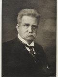 Karl Hjalmar Branting, Swedish Statesman and Pacifist, Photographic Print