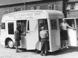 Mobile Cooked Meat Shop Specialising in Pork Pies in Kidderminster Photographic Print