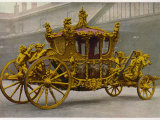 The Coronation Coach of the King or Queen of England Photographic Print
