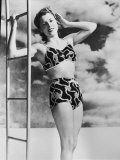 40s Two-Piece Costume Photographic Print