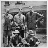 Members of the British Everest Expedition Pose for a Photograph Photographic Print