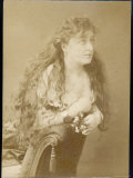 Miss C Wilkinson Actress Photographic Print