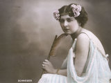 Hortense Schneider French Soprano Singer Who Appeared in Many of Offenbach's Operettas Photographic Print