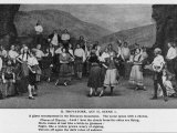 Il Trovatore, Act II Scene I: The Gypsy Encampment in the Biscayan Mountains Photographic Print