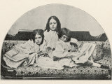Alice Liddell Lorina, Alice, Edith Photographic Print