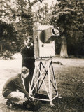 John Logie Baird Demonstrates His Noctovisor Photographic Print