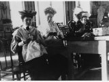 Russian Ladies Committee at Their Reception Centre Which Received Donations for the Wounded Photographic Print