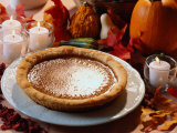 Pumpkin Pie for Thanksgiving Photographic Print by Kindra Clineff