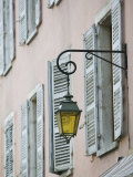 Street Lamps, Haute-Savoie Annecy, French Alps Photographic Print by Walter Bibikow