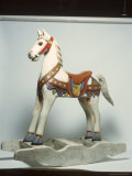 Toy Rocking Horse Photographic Print by Peter Ardito