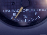 Gas Gauge Running on Empty Photographic Print by Carol & Mike Werner