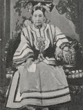 Tzu-Hsi Aka Hsiao-Ch'In &C Empress Dowager Photographic Print